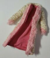 BARBIE DOLL CLOTHES MY SCENE GOES HOLLYWOOD CHELSEA PINK TAN TWEED COAT ONLY
