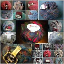Laines, tricots et fils en polyester à crochet