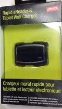 New! Staples Rapid E-reader & Tablet Wall Charger For Apple Amazon Google Kobo