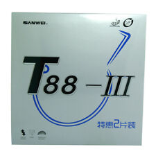 SANWEI Ittf approved T88-III table tennis rubber set / Pingpong rubber 2pcs/lot