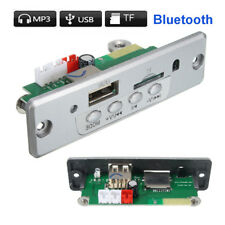 Wireless Bluetooth 5V Mp3 Wma Decoder Board Audio Module Usb Tf Radio For Car