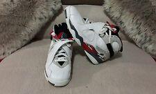 Nike Air Jordan VIII Retro Bugs Bunny White/Black/True Red 305381 103 Sz 10