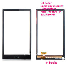 "Htc Desire 510 D510 Digitizer Touch Screen Glass Lens Replacement ""UK"" + Tools"