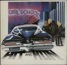 GIRLSCHOOL Hit And Run 1981 UK  vinyl LP EXCELLENT CONDITION