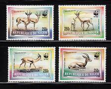 103850/ Niger 1998 - Mi 1460/3 - Dorkasgazelle / WWF - **