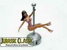 Fit Mopar DashBoard Sexy Swinging Pole Girl Dancer Stripper Retro Hot Rod NOS