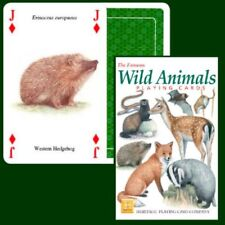 Heritage Playing Cards - The Famous Wild Animals - NEW & SEALED
