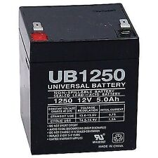 UPG 85983/d5741 Lead Acid Batteries (12v 5ah .187 Tab Terminals Ub1250