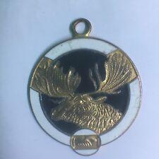 Enamelled Moose Medal | Pennies2Pounds