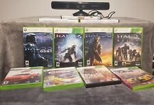 NO RESERVE !!! XBOX 360 huge HALO & miscellaneous 11 GAMES LOT (includes Kinect)