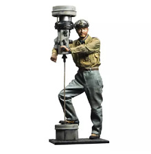 1/16 Resin Figure Model Kit Bold Captain Unassambled Unpainted