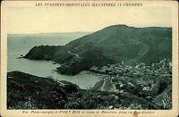Cerbère Frankreich France AK ~1920/30 Panorama Panoramique Port Bou Carte Postal
