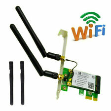 2.4/5Ghz 300/450Mbps Dual Band High Speed Desktop PC PCI-E WiFi Network Card 1