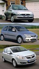 Vauxhall/Opel Corsa Taller reparación Manual de servicio 1993 - 2011 B C D Combo