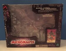 Palisades MICRONAUTS Black Baron Karza & Andromeda Parts: BOX & PACKAGING ONLY!
