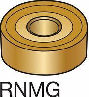 HERTEL Carbide Turning Inserts RNMG RNMG43R HC210 HCX31145D (10 Pcs)