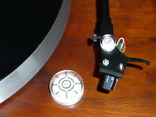 Turntable Platter and Tonearm VTA Azimuth Headshell Bubble Level Combo Kit