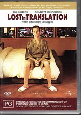 LOST IN TRANSLATION - DVD R4 (2004) Bill Murray LIKE NEW - FREE POST