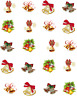 Christmas Bells  Waterslide Nail Decals/Nail art