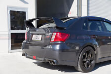 STI Style Trunk Wing Spoiler For 2008-2013 Subaru Impreza RS/WRX G3 (GREY 61K)