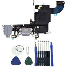 OEM New Charger Dock Charging Port Mic Flex Cable For iPhone 6s 4.7 Gray Tools