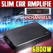 Auto Verstärker 4 Kanal Endstufe Car HiFi Amplifier 6800 Watt Bass Boost DC 12V