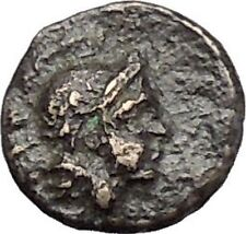 PERGAMON in MYSIA 310BC Hecules Athena Authentic Ancient Greek Coin i48678
