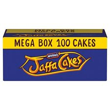 McVitie's Jaffa Cakes x 100 (10 Boxes of 10 Cakes = 100) BEST BEFORE 24/10/20