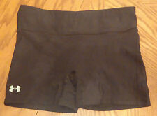 Under Armour womens black compression shorts size Small