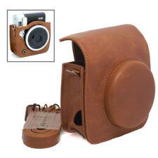 Retro Shoulder Bag Cover Case Brown For Fujifilm Instax Mini 90 NEO Film Camera
