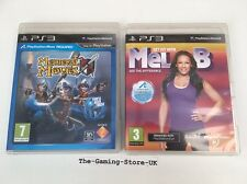 PS3 Move - Medieval Moves & Get Fit With Mel B (Makers Of Just Dance) 2 Games