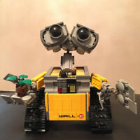 Idea Robot WALL E Building Blocks Bricks Blocks Toys Birthday Gifts For Children