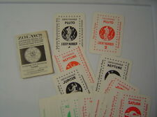 1945 Zolar's Fortune Telling Card Game