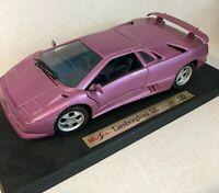Maisto Lamborghini Diablo SE 1:18 Special Edition 1994/1995 Diecast Car Pink