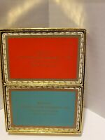 Vintage Advertisement Playing Cards Dual Pack Two Decks Congress playing cards
