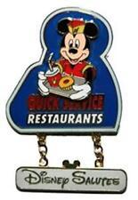 Disney Salutes - Quick Service Restaurants Cast Exclusive Pin