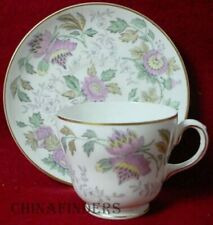 Wedgwood china Avon Multicolor W3983 pattern Cup & Saucer Set - 2-1/8""