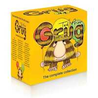 NEW Grug The Complete 34 Books Full Collection Ted Prior Kids Library Gift Set!