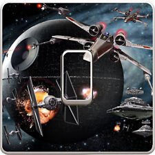 Star Wars X-Wing Light Switch Vinyl Sticker Decal for Kids Bedroom #401
