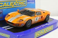 Scalextric C2882 Ford GT Orange Stillen Project Car 1/32 Slot Car