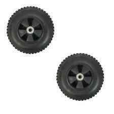 "Set of 2 New 7-1/2"" Wheel Tires 1-3/8"" Hub Length 5/8"" ID Bearing For Generator"