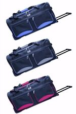 Small Medium Large Xlarge Wheeled Luggage Holdall Holiday Travel Cargo Bag case