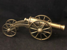 Canon Miniature Bronze XIX ° Th Century Work of Masters War Antique Cannon
