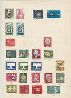 germany 1958-59 stamps page ref 17569