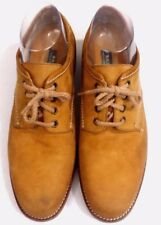 BALLY Womens Shoes OXFORDS TAN Leather Size 6.5 Excellent Condition
