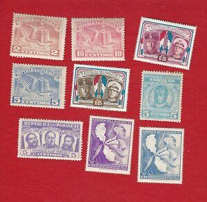 PARAQUAY  (0129  23) BRIEFMARKEN 1951 -1961  */** SIEHE SCANN