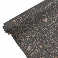 A3 Retro Egyptian PVC Leather Fabric DIY Handmade Sewing Supplies Accessory USA
