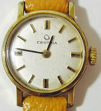 Ladies 1960s GP Certina Mechanical 13-20 Swiss movt Watch Serviced 6 Mth Wrrnty