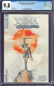 Xena: Warrior Princess v3 #1 (Dynamite Ent., 2019) CGC 9.8