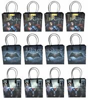 12x Batman Vs. Superman Birthday Party Favors Goody Loot Gift Candy Bags